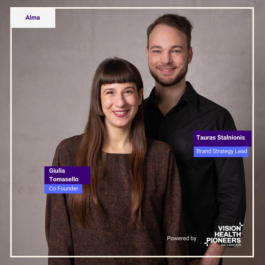 startup ALMA at vision health pioneers incubator Berlin