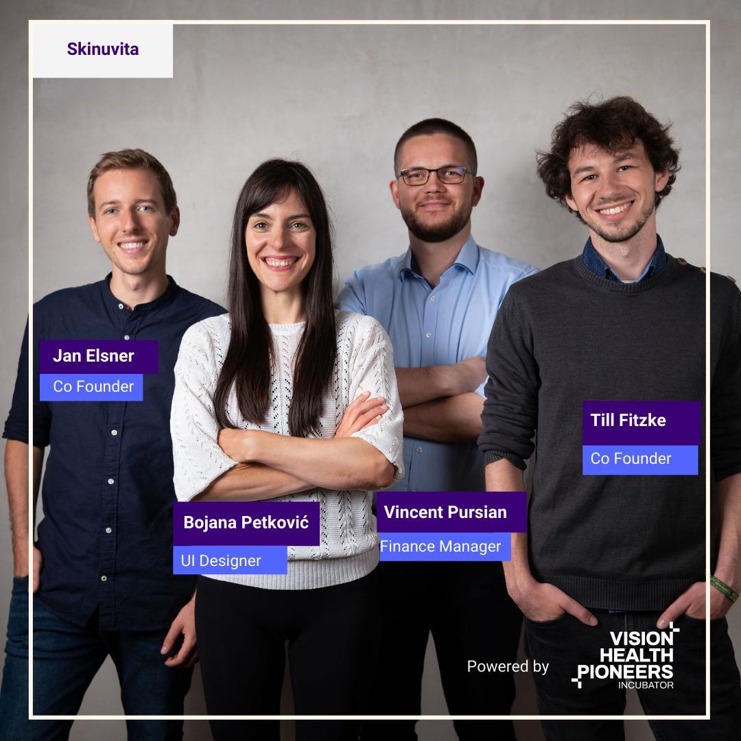 Skinuvita startup at Vision Health Pioneers Incubator