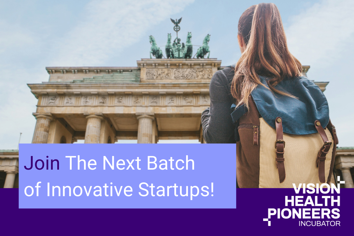 Vision Health Pioneers Incubator will run for another two years! 36 entrepreneurs in 15 teams will once again receive support from our healthcare Startup incubator based in Berlin.