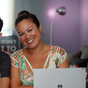 cutting-edge video journalist and idea engine Nicole Scott