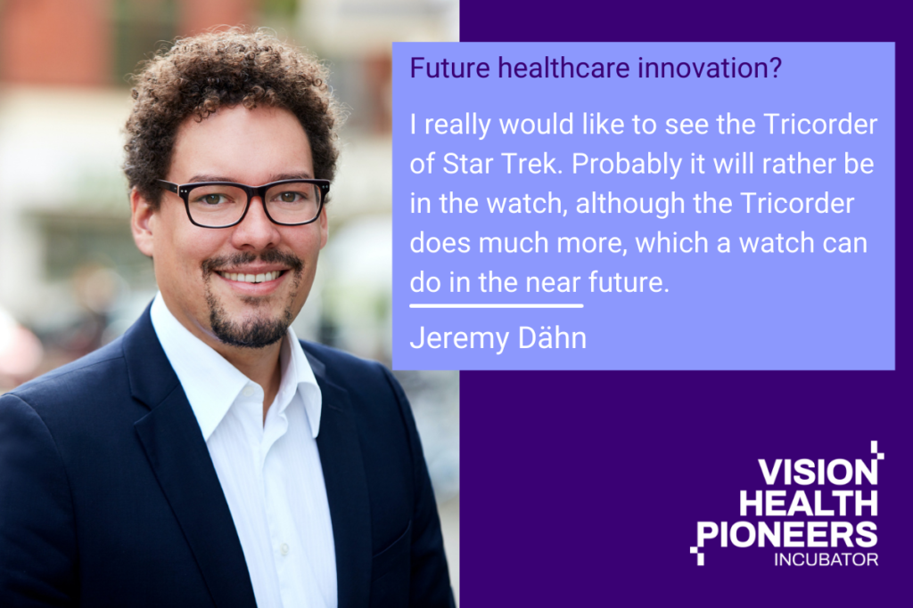 What does INTO THE FUTURE mean for Jeremy Dähn, Head of Digitization and Innovation, Johanniter