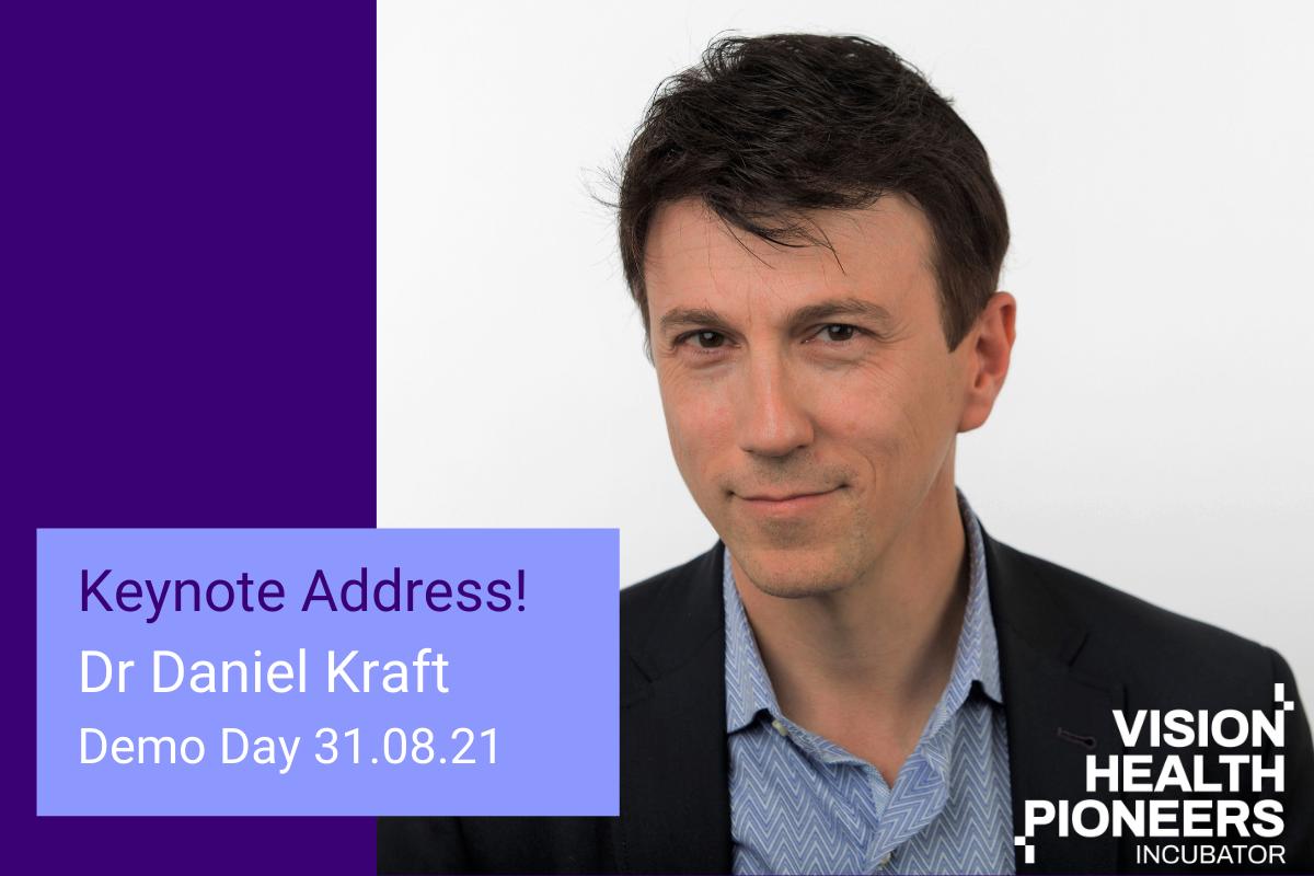 Dr Daniel Kraft, leader in thefuture of health, medicine and technology, isour Keynote Speaker