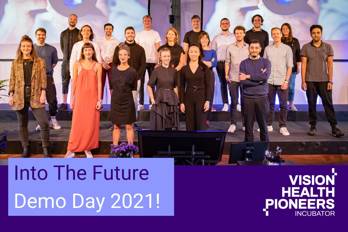 Vision Health Pioneers Incubator Demo Day 2021